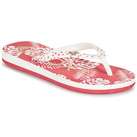 Chaussures Fille Tongs Roxy PEBBLES VII G Rose