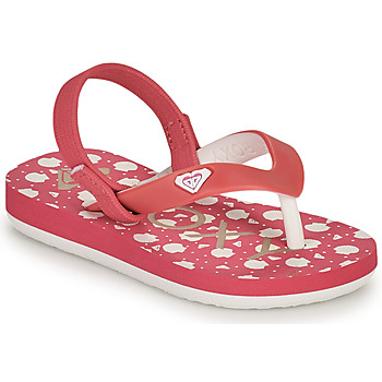 Chaussures Fille Tongs Roxy TW TAHITI VI Rose