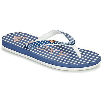 Chaussures Fille Tongs Roxy PEBBLES VII G Marine