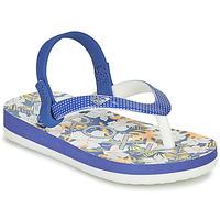 Chaussures Fille Tongs Roxy TW PEBBLES VI Bleu