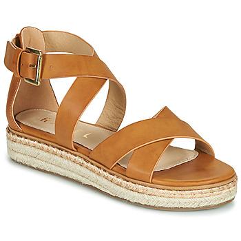 Chaussures Femme Sandales et Nu-pieds Ravel EMMY Camel