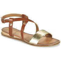 Chaussures Femme Sandales et Nu-pieds Ravel ASPEN Doré / Camel