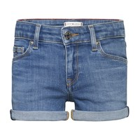 Vêtements Fille Shorts / Bermudas Tommy Hilfiger THINA Bleu