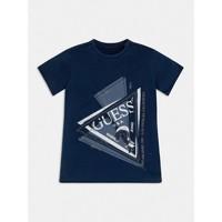Vêtements Garçon T-shirts manches courtes Guess JEREHMIA Bleu
