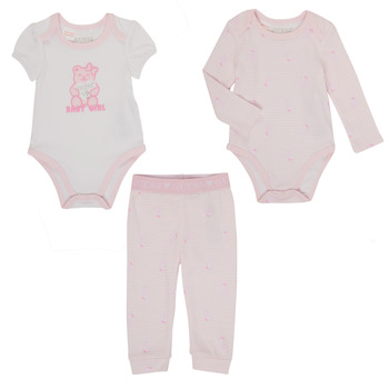 Vêtements Fille Ensembles enfant Guess LAOS Rose