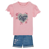 Vêtements Fille Ensembles enfant Guess ILYANA Multicolore