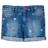 Vêtements Fille Shorts / Bermudas Guess BUSQUETA Bleu