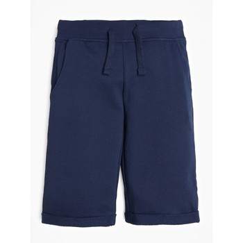Vêtements Garçon Shorts / Bermudas Guess PILLO Marine