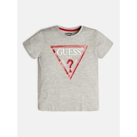 Vêtements Garçon T-shirts manches courtes Guess KILOMEN Gris