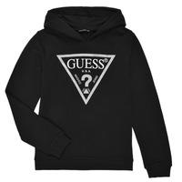 Vêtements Fille Sweats Guess NOIRAT Noir