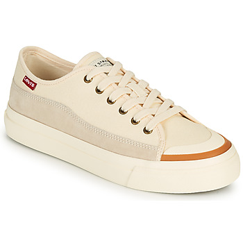 Chaussures Femme Baskets basses Levi's SQUARE LOW S Blanc