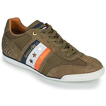 Chaussures Homme Baskets basses Pantofola d'Oro IMOLA CANVAS UOMO LOW Kaki
