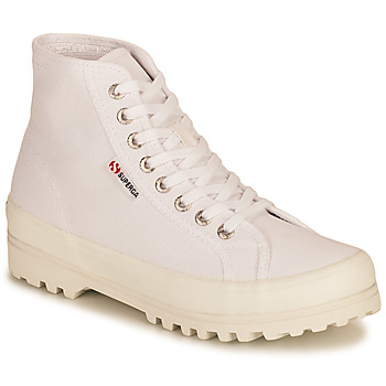 Chaussures Femme Baskets montantes Superga 2341 ALPINA COTU Blanc