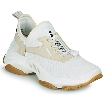 Chaussures Femme Baskets basses Steve Madden MATCH Blanc / Beige