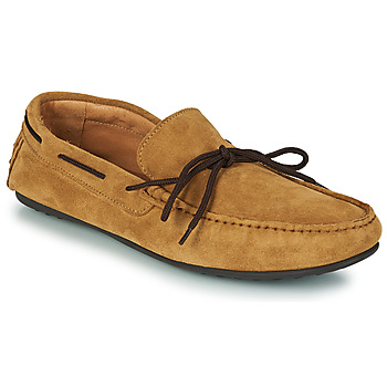 Chaussures Homme Mocassins Selected SERGIO DRIVE SUEDE Cognac