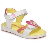 Chaussures Fille Sandales et Nu-pieds Agatha Ruiz de la Prada AITANA Blanc