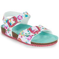 Chaussures Fille Sandales et Nu-pieds Agatha Ruiz de la Prada BIO Blanc