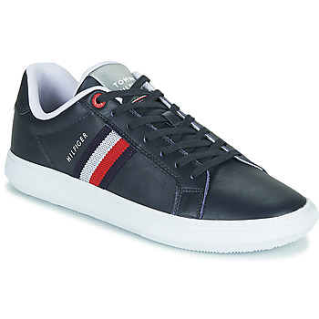 Chaussures Homme Baskets basses Tommy Hilfiger ESSENTIAL LEATHER CUPSOLE Marine