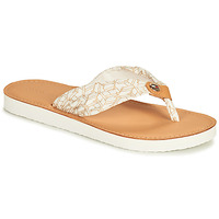 Chaussures Femme Claquettes Tommy Hilfiger LEATHER FOOTBED TH BEACH SANDAL Blanc