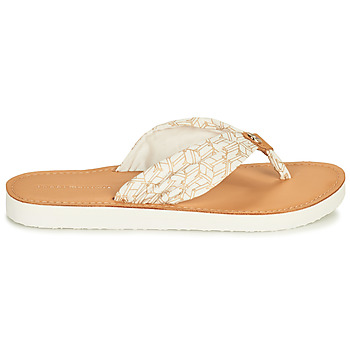 Claquettes Tommy Hilfiger LEATHER FOOTBED TH BEACH SANDAL