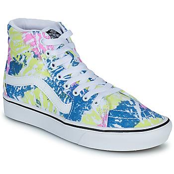 Chaussures Femme Baskets montantes Vans COMFYCUSH SK8 HI Multicolore