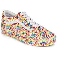 Chaussures Femme Baskets basses Vans OLD SKOOL PLATFORM Multicolore