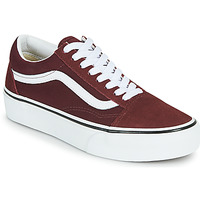 Chaussures Femme Baskets basses Vans OLD SKOOL PLATFORM Bordeaux