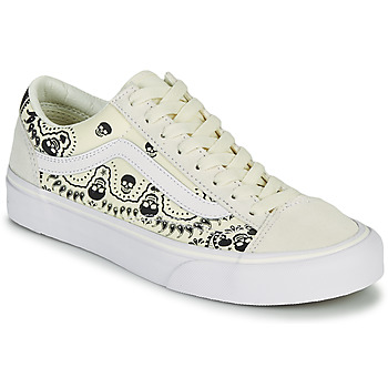 Chaussures Baskets basses Vans STYLE 36 Beige / Noir
