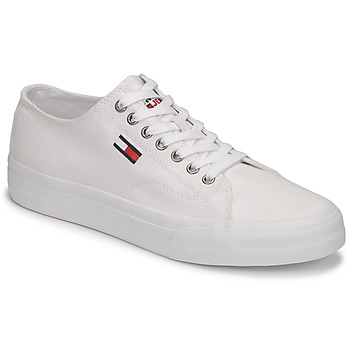 Chaussures Homme Baskets basses Tommy Jeans LONG LACE UP VULC Blanc