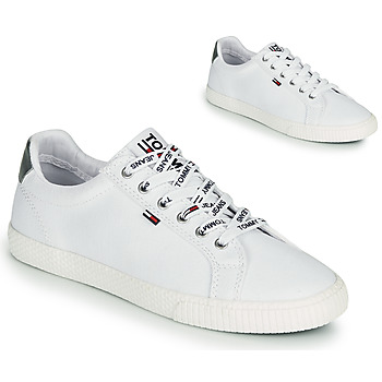 Chaussures Femme Baskets basses Tommy Jeans TOMMY JEANS CASUAL SNEAKER Blanc