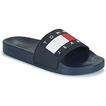 Chaussures Femme Claquettes Tommy Jeans TOMMY JEANS FLAG POOL SLIDE Bleu