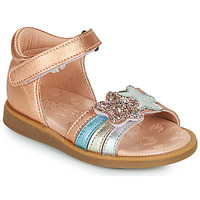Chaussures Fille Sandales et Nu-pieds Acebo's 1228-RAME Bronze