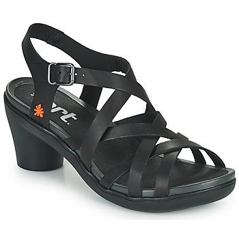 Chaussures Femme Sandales et Nu-pieds Art ALFAMA Noir