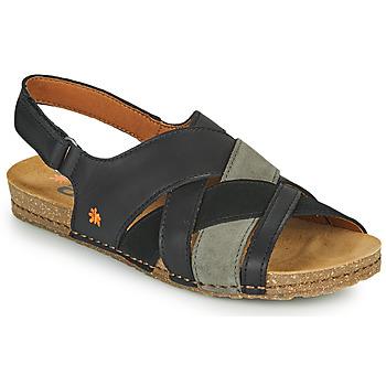 Chaussures Femme Sandales et Nu-pieds Art CRETA Noir