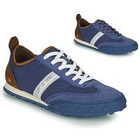 Chaussures Homme Baskets basses Art CROSS SKY Bleu / Marron
