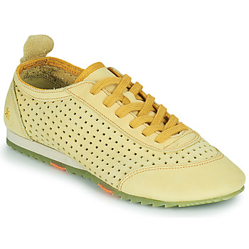 Chaussures Femme Baskets basses Art KIOTO Jaune