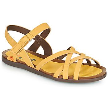 Chaussures Femme Sandales et Nu-pieds Art LARISSA Jaune