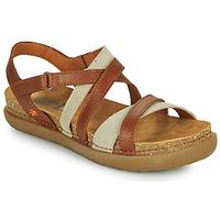 Chaussures Femme Sandales et Nu-pieds Art RHODES Marron