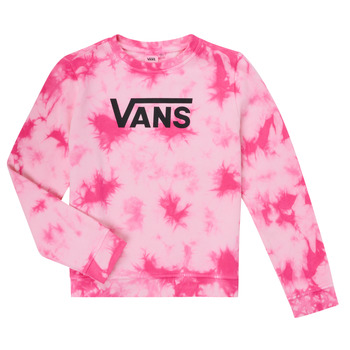 Vêtements Fille Sweats Vans HYPNO CREW Rose