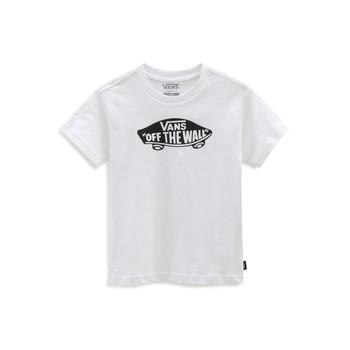 Vêtements Enfant T-shirts manches courtes Vans VANS CLASSIC TEE Blanc