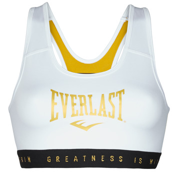 Vêtements Femme Brassières de sport Everlast EVL BRAND BR Blanc / Or