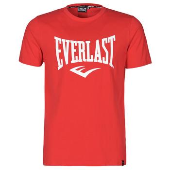 Vêtements Homme T-shirts manches courtes Everlast EVL- BASIC TEE-RUSSEL Rouge