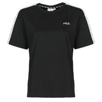 Vêtements Femme T-shirts manches courtes Fila JAKENA Noir