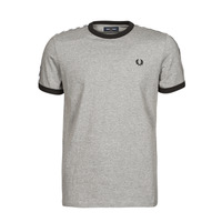 Vêtements Homme T-shirts manches courtes Fred Perry TAPED RINGER T-SHIRT Gris