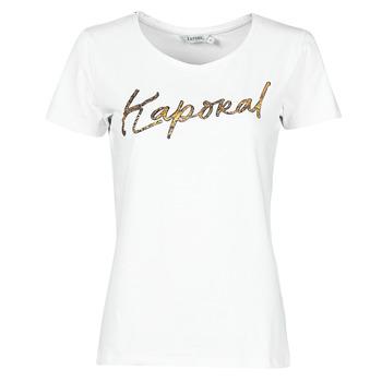 Vêtements Femme T-shirts manches courtes Kaporal PETER Blanc