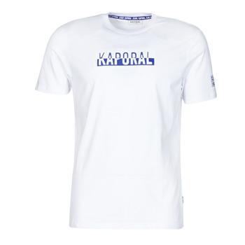 Vêtements Homme T-shirts manches courtes Kaporal DINO Blanc