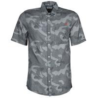 Vêtements Homme Chemises manches courtes Kaporal SID Marine