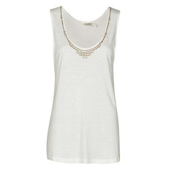 Vêtements Femme Débardeurs / T-shirts sans manche Kaporal PAMPI Blanc