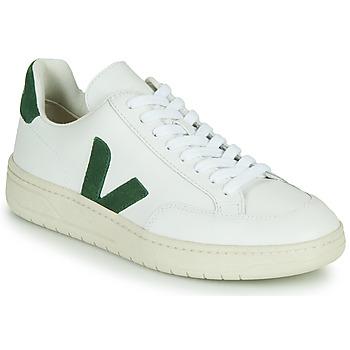 Chaussures Baskets basses Veja V-12 Blanc / Vert