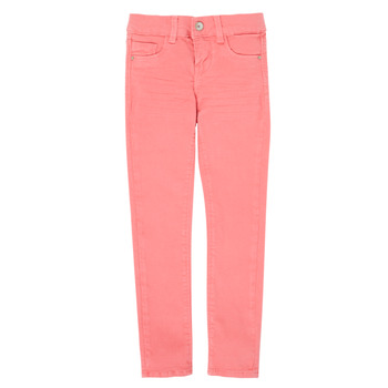 Vêtements Fille Pantalons 5 poches Name it NKFPOLLY Rose